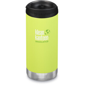 Klean Kanteen TKWide Bottle with Cafe Cap 355ml Vacuum Insulated juicy pear (matt)
